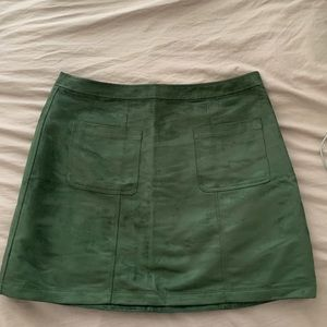 NWT Old Navy Suede A-Line Skirt w/Pockets